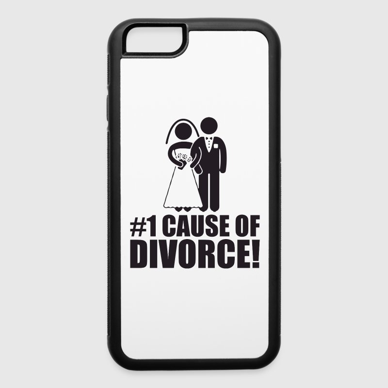Divorce Cases: Number One Cause Of Divorce (Marriage) IPhone Case