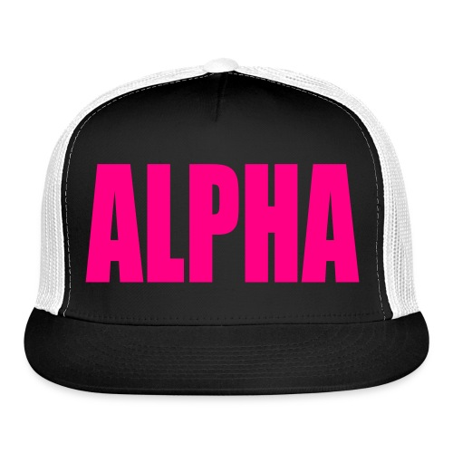 Ladies Alpha Trucker Hat - Trucker Cap