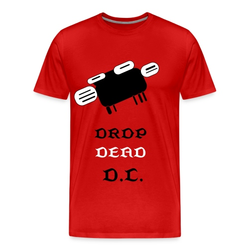 DROP DEAD MEN'S SHIRT - Men's Premium T-Shirt