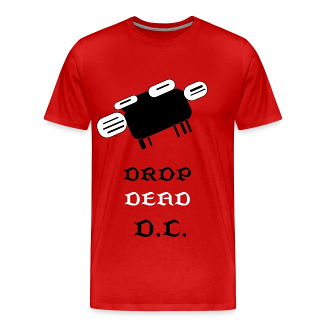 DROP DEAD MEN'S SHIRT