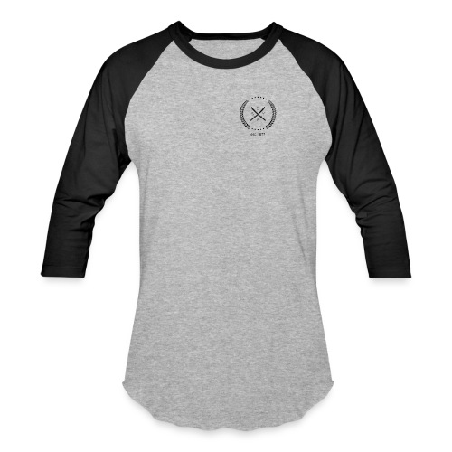 Men's Samurai emblem raglan - Baseball T-Shirt