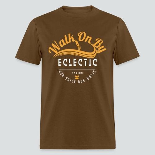 Walk On By Tee Brn/Gold  - Men's T-Shirt