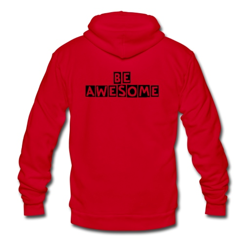 AWESOME DUDE - Unisex Fleece Zip Hoodie