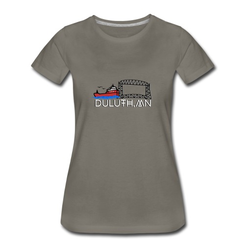 Womens Duluth GeoFilter - Women's Premium T-Shirt