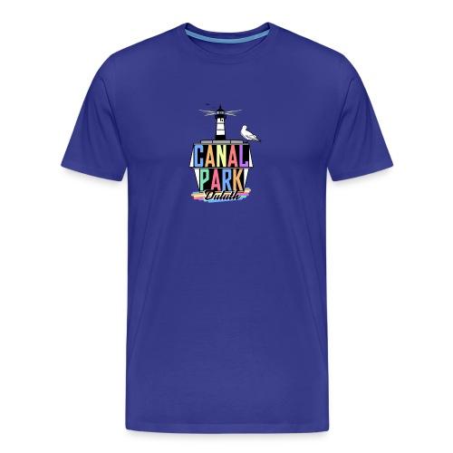 Mens Canal Park GeoFilter - Men's Premium T-Shirt