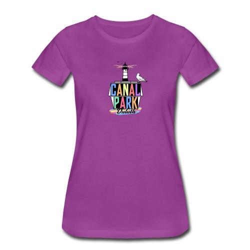 Womens Canal Park GeoFilter - Women's Premium T-Shirt