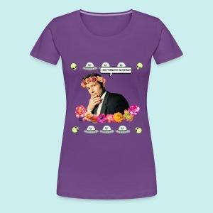 Flower Boy Mulder - Women's Premium T-Shirt