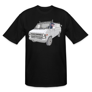 Van Dog - Tall - Men's Tall T-Shirt