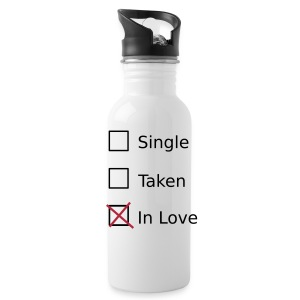 Single Taken In Love Sportswear - Water Bottle