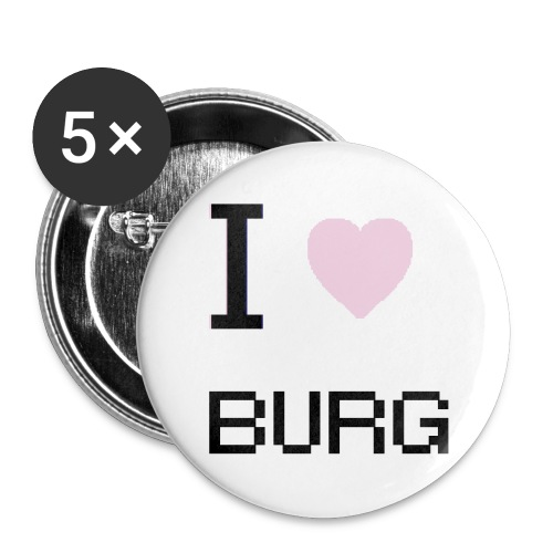 Love the Burg - Large Buttons