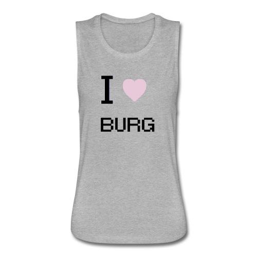 Love the Burg - Women's Flowy Muscle Tank by Bella