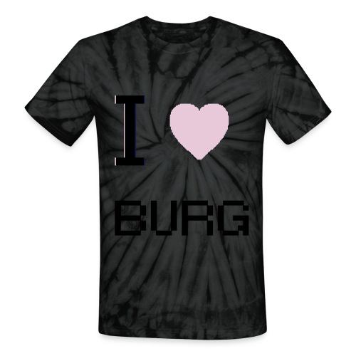 Love the Burg - Unisex Tie Dye T-Shirt