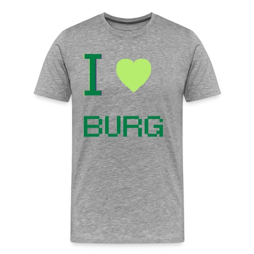 Love the Burg - Men's Premium T-Shirt