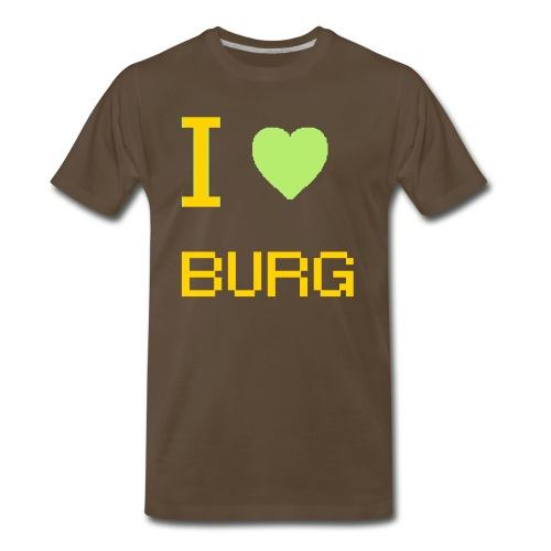 Love the Burg - Men's Premium T-Shirt