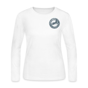 Women's Long Sleeve Jersey T-Shirt - kisses,horse t-shirts,horse clothes,horse,gifts for horse person,gifts for horse people,equine clothing,equestrian wear,equestrian gear