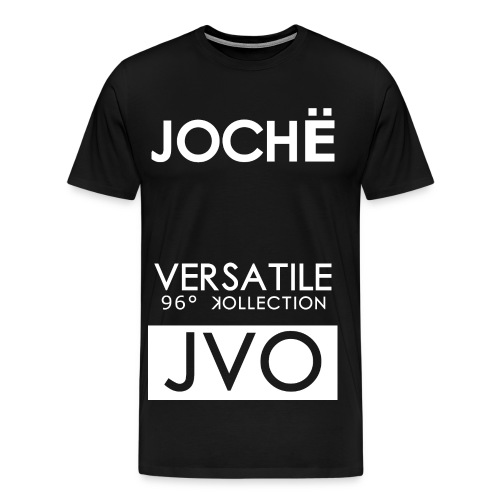 JOCEH TEE BLACK - Men's Premium T-Shirt