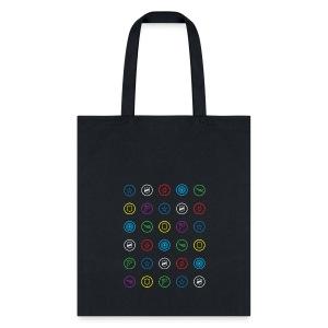 HeroClix Symbols Tote Bag - Tote Bag