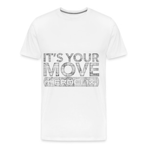 It's Your Move HeroClix Tee - Men's Premium T-Shirt