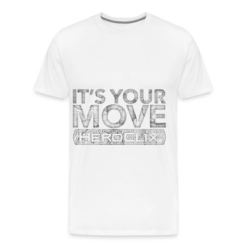It's Your Move HeroClix Tee - Men's Premium T-Shirt