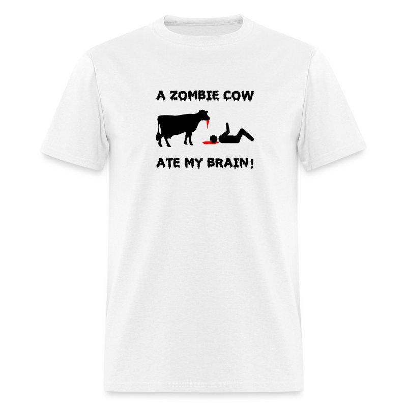 A Zombie Cow Ate My Brain! - Men's T-Shirt