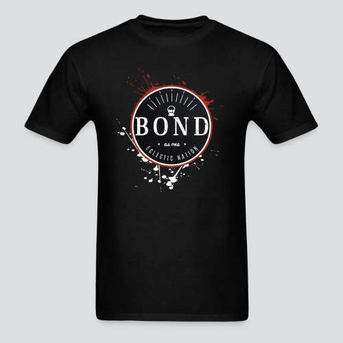 Bond Tee Black/Red - Men's T-Shirt