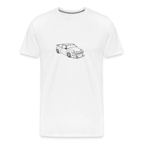 AE86 N2 Sketch - White Only - Men's Premium T-Shirt