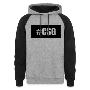#CSG  - Colorblock Hoodie