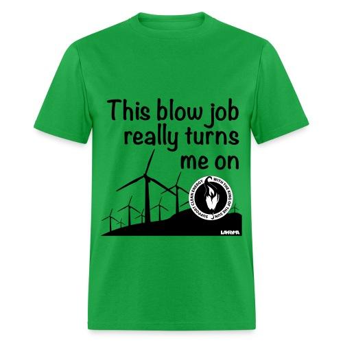 Wind Power - Men's T-Shirt