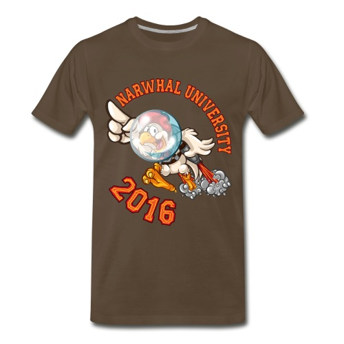 Narwhal University 2016 Premium Men - Men's Premium T-Shirt