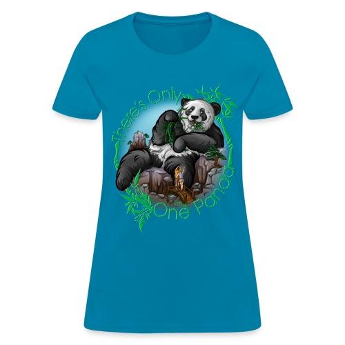 There's Only One Panda Women - Women's T-Shirt