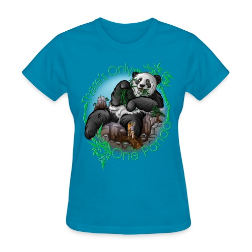 There's Only One Panda Women - Women's T-Shirt