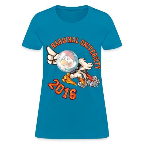 Narwhal University 2016 Women - Women's T-Shirt