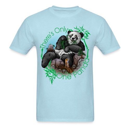 There's Only One Panda Men - Men's T-Shirt
