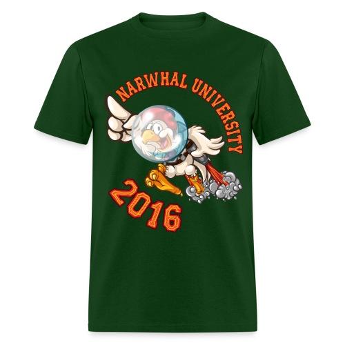 Narwhal University 2016 Men - Men's T-Shirt