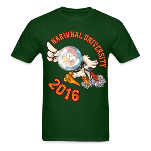 Narwhal University 2016 Men - Men's T-Shirt