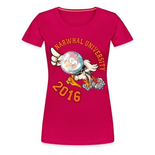 Narwhal University 2016 Premium Women - Women's Premium T-Shirt