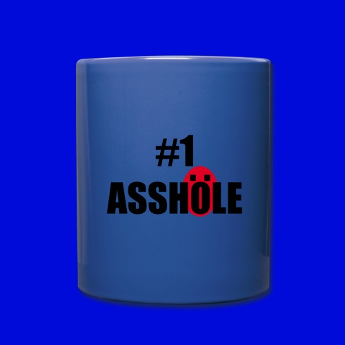 #1 Asshole Mug - Full Color Mug