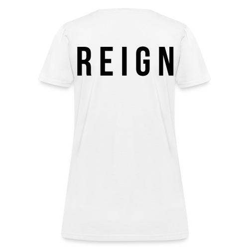 Women's Reign (Black Print) - Women's T-Shirt