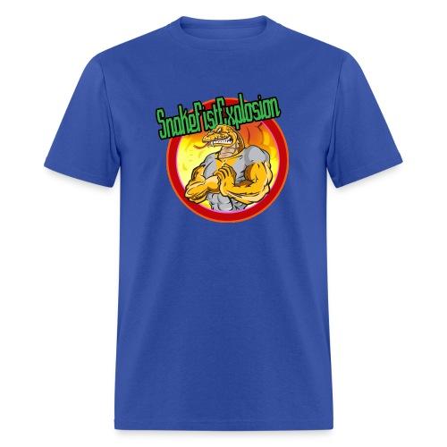 SnakeFistExplosion Shirt - Men's T-Shirt