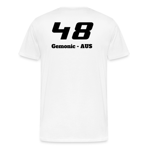 OZNZ Simracing Custom Shirt (Gemonic) - Men's Premium T-Shirt