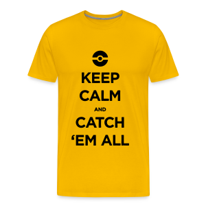 Catch 'em All - Men's Premium T-Shirt