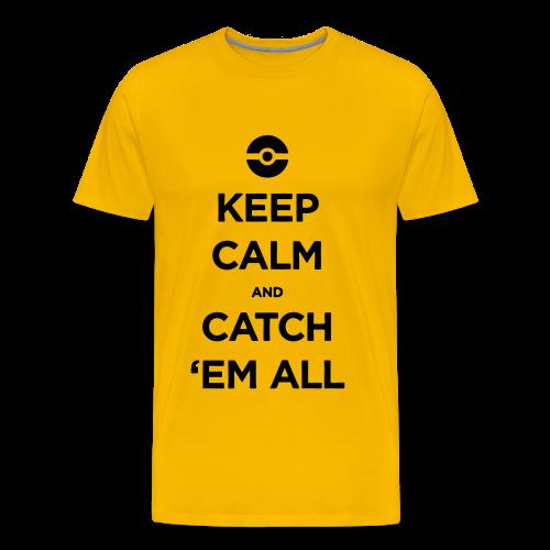 Catch 'em All - Men's Premium T-Shirt