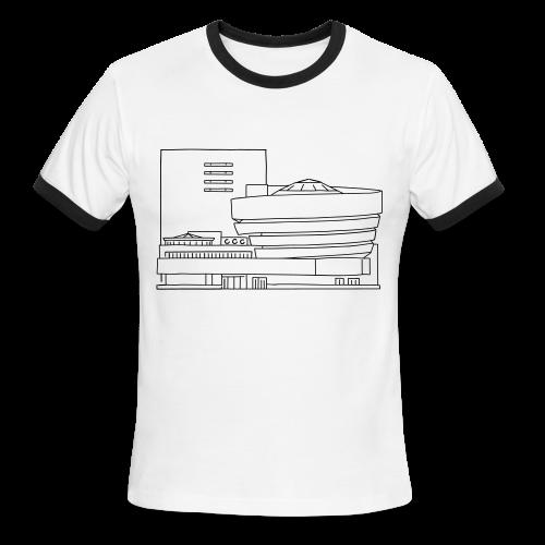 Guggenheim Museum New York - Men's Ringer T-Shirt