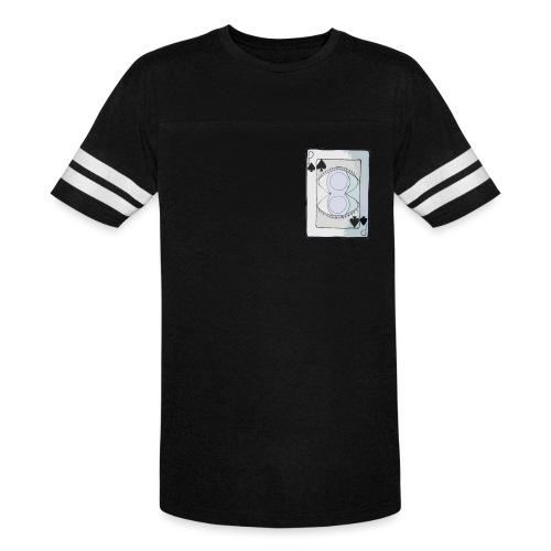 Paranoia Poker Baseball Tee - Vintage Sport T-Shirt