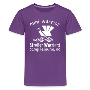 Purple Mini Warrior Tee - Kids' Premium T-Shirt