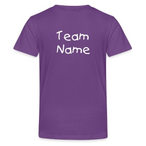ADD PERSONALIZATION Purple Mini Warrior Tee - Kids' Premium T-Shirt