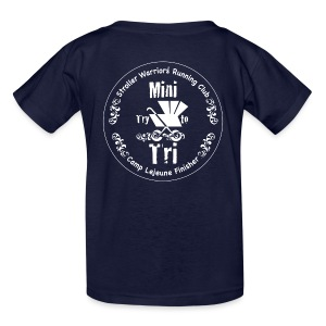 Kids Black Mini Try to Tri Tee - Kids' T-Shirt