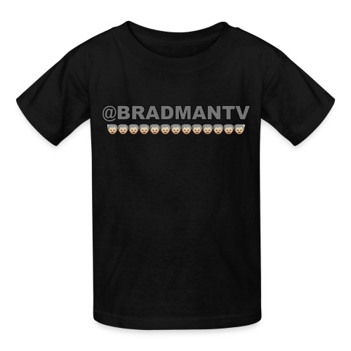 Kid Sized BradmanTV Emoji Shirt - Kids' T-Shirt