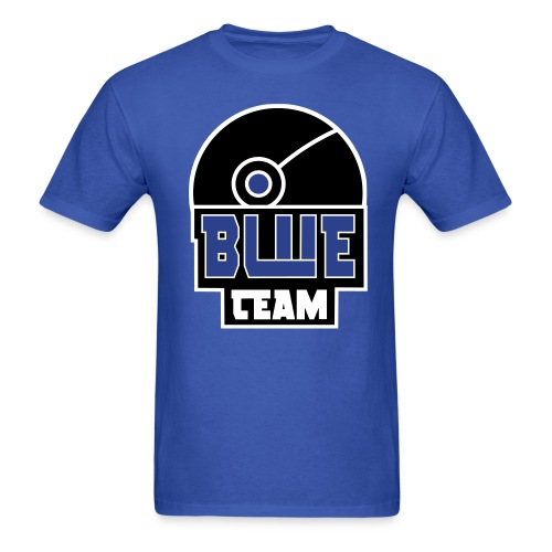 BLUE Team Men's Tee - Men's T-Shirt