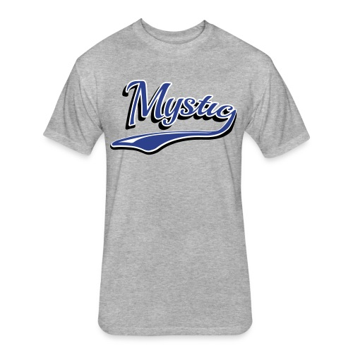 Mystic Baseball Men's Tee - Fitted Cotton/Poly T-Shirt by Next Level